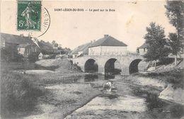 Saint Léger Du Bois Lavandière Pont Sur La Drée Canton Epinac - France