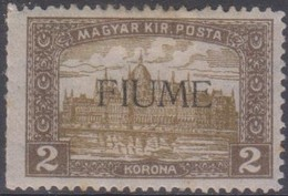 Fiume 1918 2k. 1v Mh) - Bezetting 1° Wereldoorlog