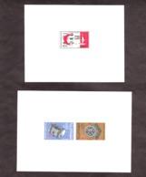 Maroc - Lot De 2 épreuves - Hopital D'Agadir - Art - Stamps
