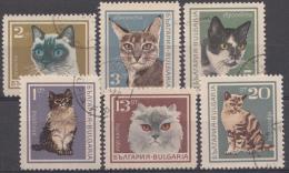 BULGARIEN / BULGARIJE MI.NR.1717-1722  USED / GEBRUIKT / OBLITERE 1967 - Bulgarije