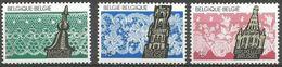 Belgium - 1989 Lace MNH **    Sc 1308-10 - Belgium