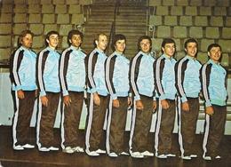 Equipe De France De Gymnastique Masculine Vers 1976 Avec Henri Boério - Carte Non Circulée - Gimnasia