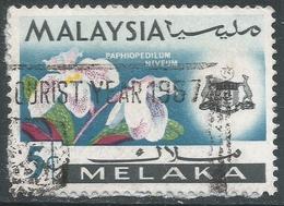 Malacca (Malaysia). 1965-68 Orchids. 5c Used SG 63 - Malaysia (1964-...)