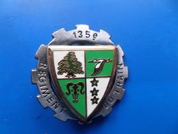 135° Régiment Du Train , Insigne Train    , Insigne , Drago Noisiel - Armée De Terre