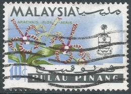 Penang (Malaysia). 1965-68 Orchids. 10c Used. SG 70 - Malaysia (1964-...)