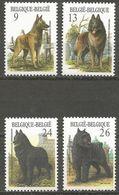 Belgium - 1986 Dogs MNH **    Sc 1243-6 - België