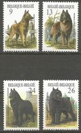 Belgium - 1986 Dogs MNH **    Sc 1243-6 - Belgium