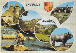 12 LAGUIOLE / MULTIVUES AVEC BLASON - Laguiole