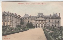 Cp , 54 , LUNÉVILLE , Le Château, Vu De La Grande Allée Des Bosquets - Luneville