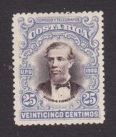 Costa Rica, Scott #57, Mint No Gum, Eusebio Figueroa Oreamuno, Issued 1903 - Costa Rica