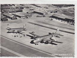 Provisorischer Flughafen Zürich - DC-4 HB-ILI Der Swiss Air Lines - 1949    (P-110-61110) - ZH Zurich