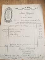 Facture Imprimerie Louis Fagnart WALCOURT 1903 - Printing & Stationeries