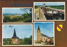 57----KOENIGSMACKER---vue Générale L'écluse. La Chapelle. L'église.  ( Peniche )---voir 2 Scans - Otros Municipios