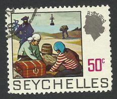 Seychelles, 50 C, 1969, Scott # 263, Used. - Seychelles (...-1976)
