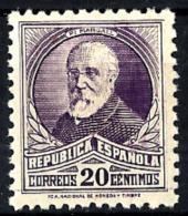 España Nº 666 En Nuevo - 1931-50 Nuevos & Fijasellos
