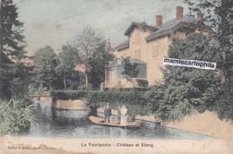 LA TOURLANDRY - Maine Et Loire - Château Et Etang - Animée - CPA - France