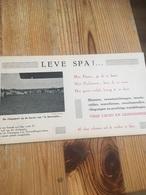 4 Menus Spa Vierge Et Une' Pub Spa - Werbung