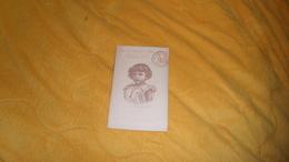 CARTE POSTALE ANCIENNE CIRCULEE DE 1896. / DESSIN PORTRAIT ENFANT.. CACHET + TIMBRE ENTIER... - Bulgarie