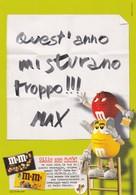 PROMOCARD N°  1180/2   M&M' S - Publicité