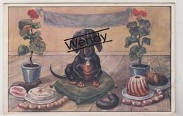 Twee Kaarten Dashond/teckel/basset - Dogs