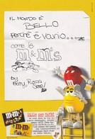 PROMOCARD N°  1179/3   M&M' S - Publicité