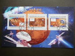Mars Space. Raumfahrt. Espace # Guinea # 2012 Used S/s # - Space