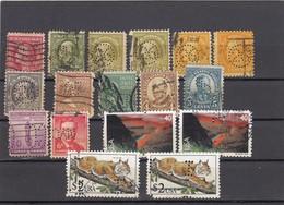 11563-LOTTICINO DI N°. 17 FRANCOBOLLI PERFIN - USATI - STATI UNITI - Stati Uniti