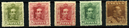 2014- España Nº 323, 310, 312, 313/4 - 1889-1931 Reino: Alfonso XIII