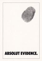 PROMOCARD N°  1151  ABSOLUT EVIDENCE - Pubblicitari