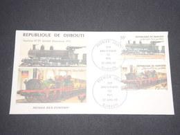 DJIBOUTI - Enveloppe FDC Sur Les Trains En 1985 - L 12940 - Djibouti (1977-...)