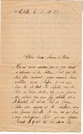 VP11.843 - Guerre 39 / 45 - Lettre De Mme DUCROT à CHELLES - Manuscripts