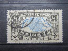 """VEND BEAU TIMBRE DE LA REUNION N° 61 , OBLITERATION """" LA RIVIERE """" !!! - Réunion (1852-1975)"""