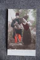 Guerre 1914 -18: Qu'importe La Frontière....On S'aime.L'ALSACE Est FRANCAISE Quand Même ! - Patriotic