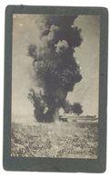 Photo Guerre 14/18, Ww1, Explosion 210 Allemand - Guerre, Militaire