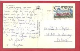 Y&T N°1644 (Concordance TP Et CP)FORT DE FRANCE   Vers  LE RAINCY  1972 2 SCANS - Marcophilie (Lettres)