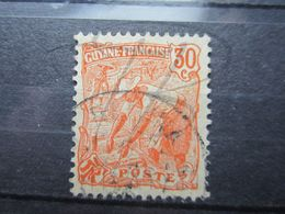 "VEND BEAU TIMBRE DE GUYANE N° 80 , OBLITERATION "" REGINA "" !!! - Guyane Française (1886-1949)"