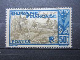 "VEND BEAU TIMBRE DE GUYANE N° 120 , OBLITERATION "" CAYENNE "" !!! (b) - Guyane Française (1886-1949)"