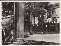 MINI-PHOTO D'éditeur---PALESTINE---BETHLEHEM--entrée De La Grotte De La Nativité--voir 2 Scans - Palestine