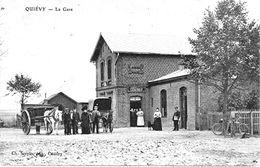 QUIEVY (nord)  La GARE - Autres Communes