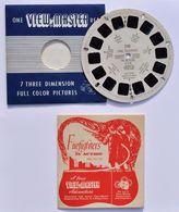VIEW-MASTER : Fire Fighters In Action - U.S.A. 1953 / Pompier - RARE ! - Visionneuses Stéréoscopiques
