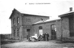QUIEVY (nord)  La Gare Du Cambrésis - Autres Communes