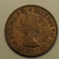 1961 - Grande Bretagne - Great Britain - ONE PENNY, ELIZABETH II, KM 897 - D. 1 Penny