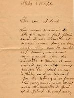 VP11.845 - Guerre 39 / 45 - Lettre De Mr DUCROT à CLICHY - Manuscripts