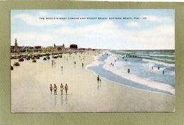 THE WORLD'S MOST FAMOUS AND WIDEST BEACH   DAYTONA BEACH - Daytona