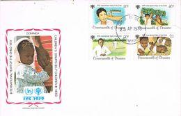 27408. Carta F.D.C. ROSEAU (Dominica) 1979. Año Internacion Niño. Year Of The Child - Dominica (1978-...)