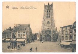 Tongeren Groote Plaats En De Kerk  (Legia) - Tongeren