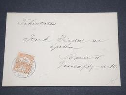 HONGRIE - Enveloppe De Budapest En 1916 , Affranchissement Et Oblitération Plaisants - L 12955 - Hongrie
