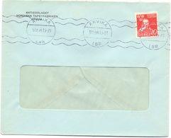 Enveloppe Kuvert - Pub Reklam Aktiebolaget Nordiska Tapetfabriken Arvika - Sverige Zweden 1944 - Postal Stationery