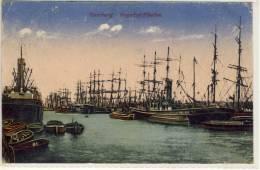 HAMBURG  SEGELSCHIFFHAFEN  SHIP 1921 - Allemagne