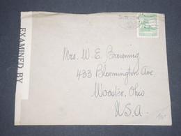 CHILI - Enveloppe Pour Les Etats Unis En 1942 Avec Contrôle Postal - L 12960 - Chili
